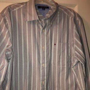 Mens Tommy Hilfiger Classic Long Sleeve Shirt NEW
